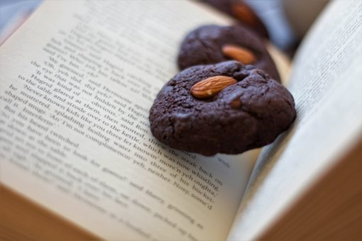 Bakery-style dark chocolate & almond
