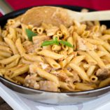 Honey mustard chicken penne with sundried tomatoes