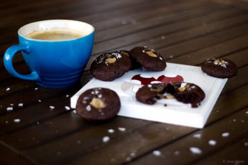 Wicked salted caramel & dark chocolate