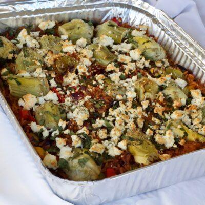 Greek style veggie bake