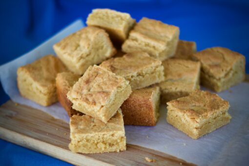 Old fashioned peanut butter squares