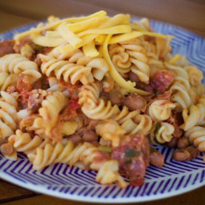 Salami pasta