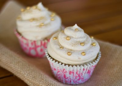 Amarula cupcakes